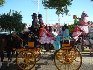 Horse chariots